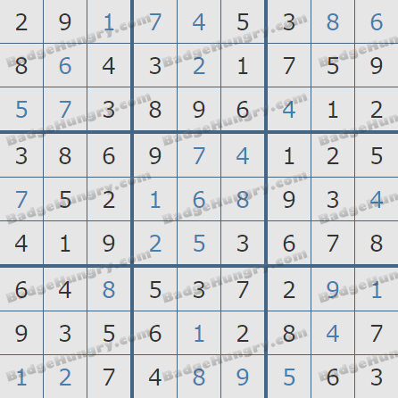 Pogo Daily Sudoku Solutions: July 13, 2020