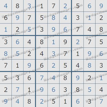 Pogo Daily Sudoku Solutions: July 15, 2020