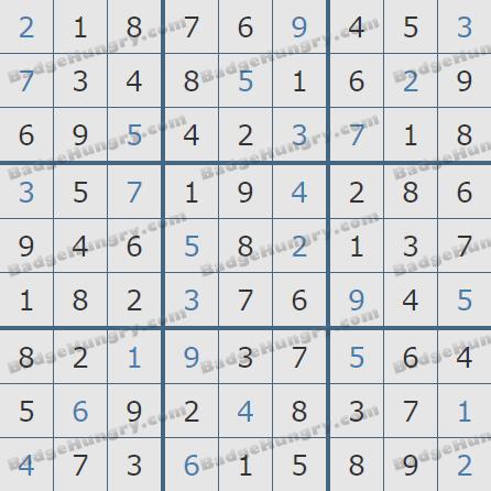 Pogo Daily Sudoku Solutions: July 17, 2020