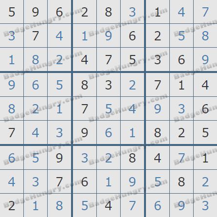 Pogo Daily Sudoku Solutions: July 19, 2020