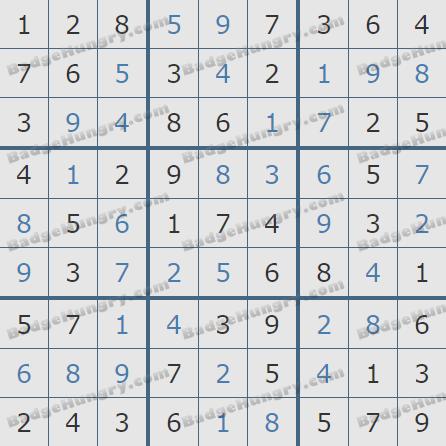 Pogo Daily Sudoku Solutions: July 23, 2020