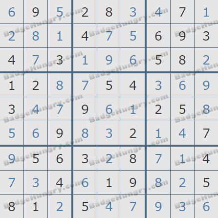 Pogo Daily Sudoku Solutions: July 27, 2020