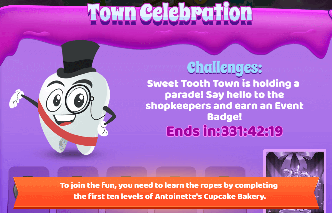Sweet Tooth Town: Town Celebration Event