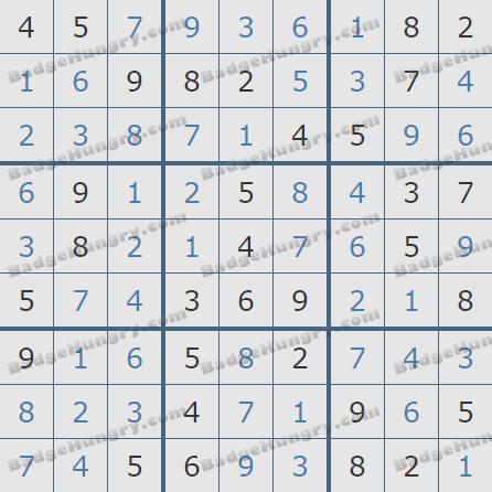 Pogo Daily Sudoku Solutions: July 29, 2020