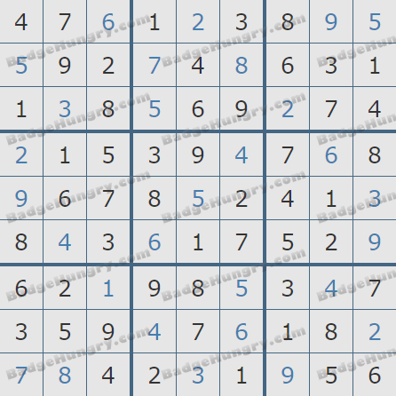 Pogo Daily Sudoku Solutions: August 1, 2020