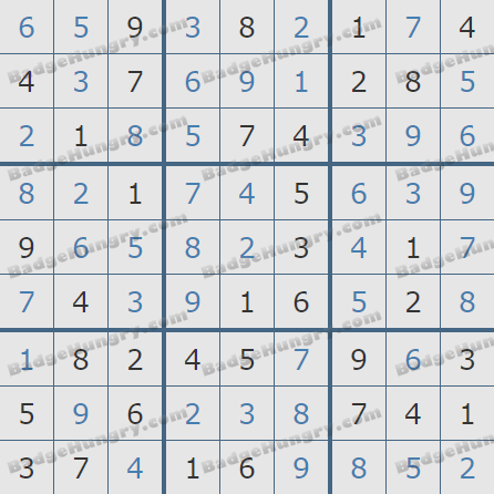 Pogo Daily Sudoku Solutions: August 4, 2020