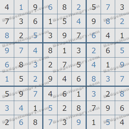Pogo Daily Sudoku Solutions: August 5, 2020