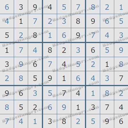 Pogo Daily Sudoku Solutions: August 7, 2020