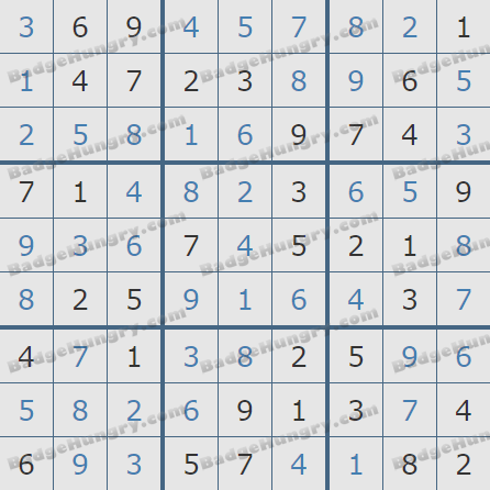 Pogo Daily Sudoku Solutions: August 9, 2020