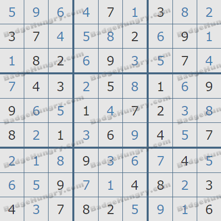 Pogo Daily Sudoku Solutions: August 10, 2020