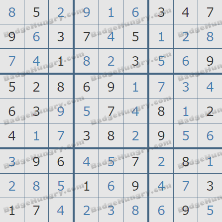 Pogo Daily Sudoku Solutions: August 11, 2020