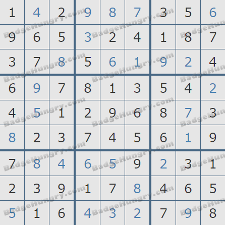 Pogo Daily Sudoku Solutions: August 12, 2020