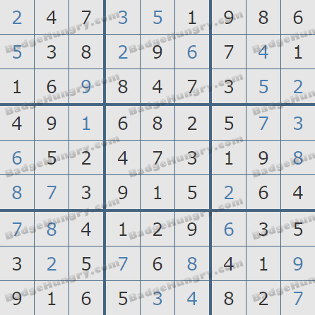 Pogo Daily Sudoku Solutions: August 15, 2020