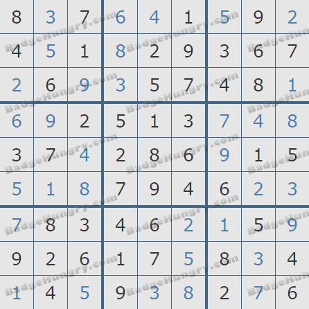 Pogo Daily Sudoku Solutions: August 17, 2020