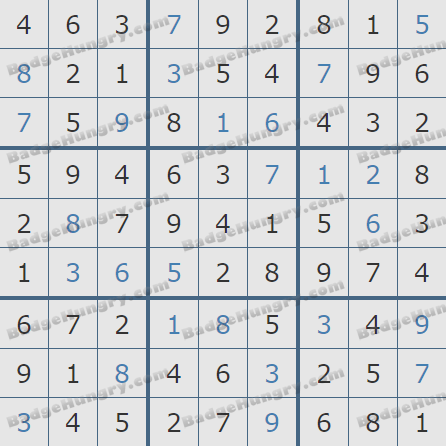 Pogo Daily Sudoku Solutions: August 20, 2020
