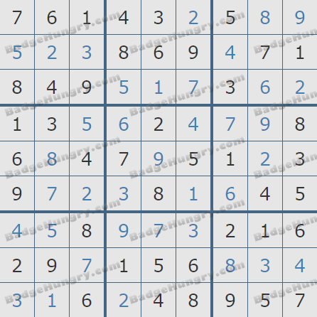 Pogo Daily Sudoku Solutions: August 22, 2020