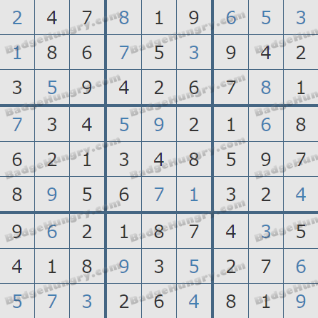 Pogo Daily Sudoku Solutions: August 27, 2020