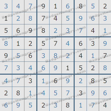 Pogo Daily Sudoku Solutions: August 28, 2020
