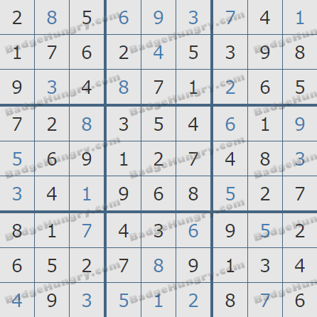 Pogo Daily Sudoku Solutions: August 29, 2020