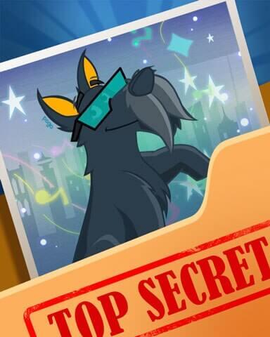 Super Secret Badge