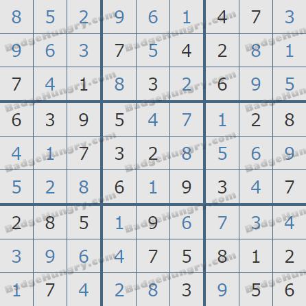 Pogo Daily Sudoku Solutions: September 3, 2020