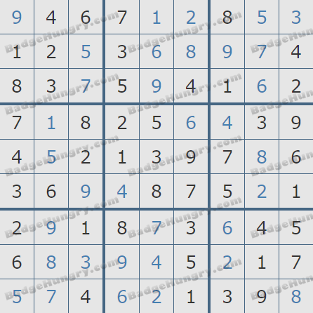 Pogo Daily Sudoku Solutions: September 6, 2020