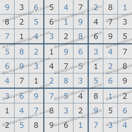 Pogo Daily Sudoku Solutions: September 8, 2020