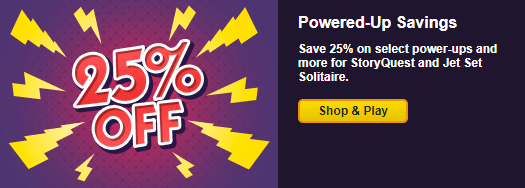 Save 25% in Select Games Through September 15