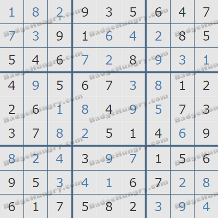 Pogo Daily Sudoku Solutions: September 13, 2020