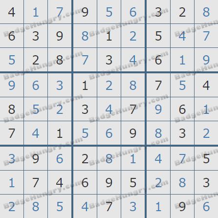 Pogo Daily Sudoku Solutions: September 14, 2020