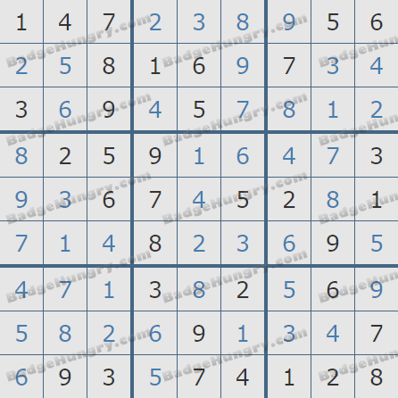 Pogo Daily Sudoku Solutions: September 15, 2020