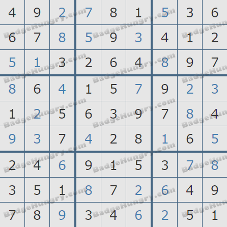 Pogo Daily Sudoku Solutions: September 16, 2020