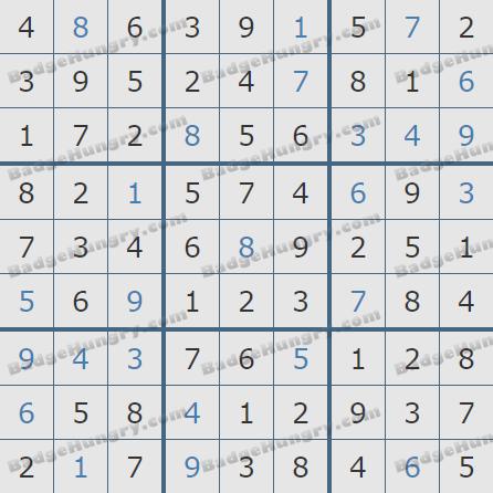 Pogo Daily Sudoku Solutions: September 19, 2020
