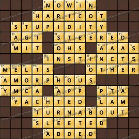 Crossword Cove HD Solution: September 19, 2020