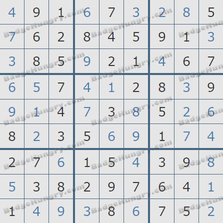 Pogo Daily Sudoku Solutions: September 22, 2020
