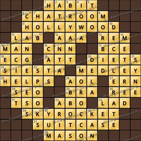 Crossword Cove HD Solution: September 22, 2020