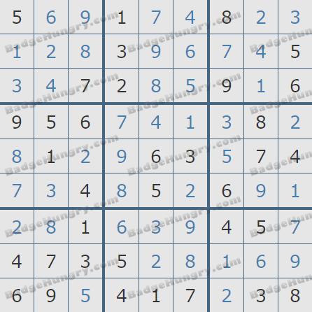 Pogo Daily Sudoku Solutions: September 24, 2020
