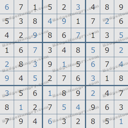 Pogo Daily Sudoku Solutions: September 25, 2020