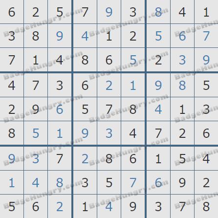 Pogo Daily Sudoku Solutions: September 28, 2020