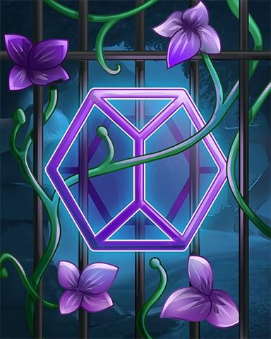 Jewel Academy - Violet Mystery Badge