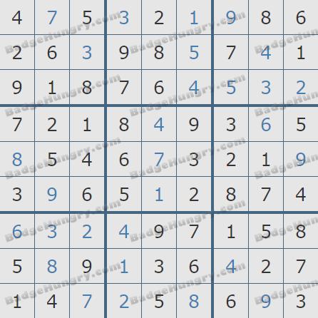 Pogo Daily Sudoku Solutions: October 1, 2020