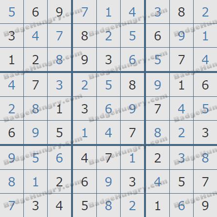 Pogo Daily Sudoku Solutions: October 3, 2020
