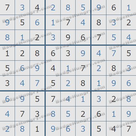 Pogo Daily Sudoku Solutions: October 5, 2020