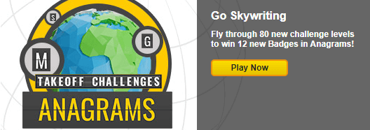 Anagrams: Takeoff Challenges