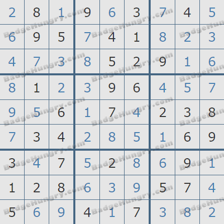 Pogo Daily Sudoku Solutions: October 7, 2020