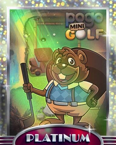 Pogo Mini-Golf Mix-n-Match Badge