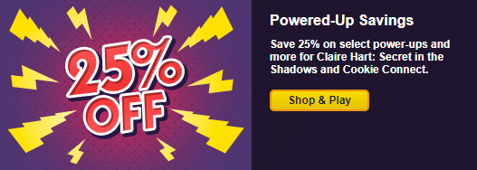 Save 25% in Select Games Through October 13