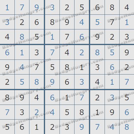 Pogo Daily Sudoku Solutions: October 12, 2020