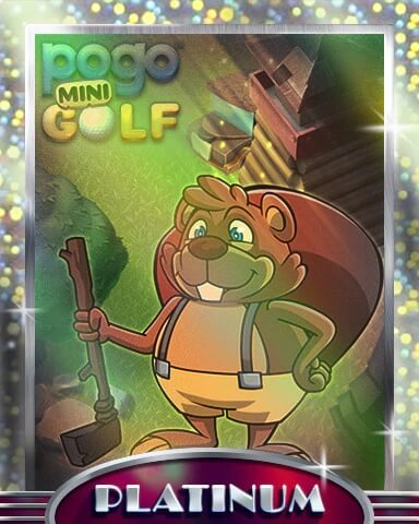 Pogo Mini Golf Mix-n-Match Badge
