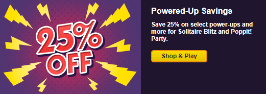 Save 25% in Select Games Through October 20